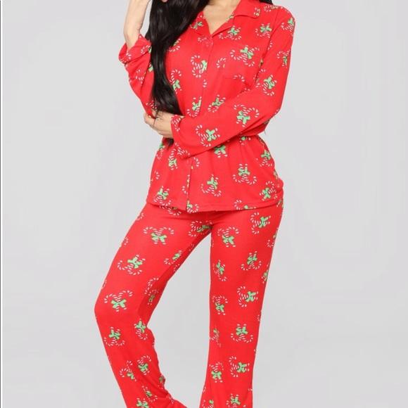 Fashion Nova Intimates Sleepwear Christmas Pj Poshmark